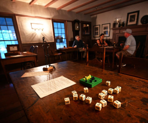 Play Games in The 1784 Pub's Public Room